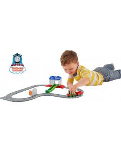 Thomas & Friends  Percy at the Recsue Centre Set, Tank Engine Adventures Toy Train Set