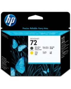 HP TINTEIRO 72 PH PRETO/AMARELO (C9384A)