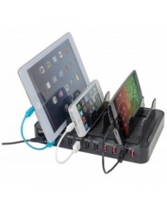 MANHATTAN ESTAÇÃO DE CARREGAMENTO P/ SMARTPHONE + TABLET - 10 USB