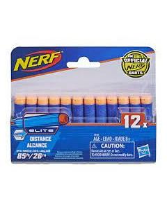 Nerf N-Strike Elite 12 Special Edition Elite Darts Pack, Blue