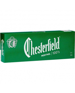 Chesterfield 100's Cigarro de Menthol (10 unidades)