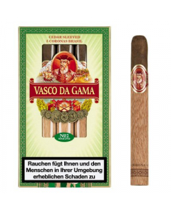 Vasco da Gama No. 2 Maduro Charuto X 5