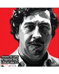 Quadro Artístico - Pable Escobar
