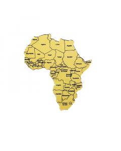 REGUA MAPA DE AFRICA