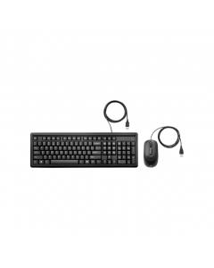 HP TECLADO + RATO COM CABO USB 160 PRETO