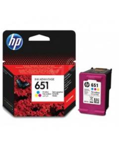 HP TINTEIRO 651 TRI-COLOUR (C2P11AE)